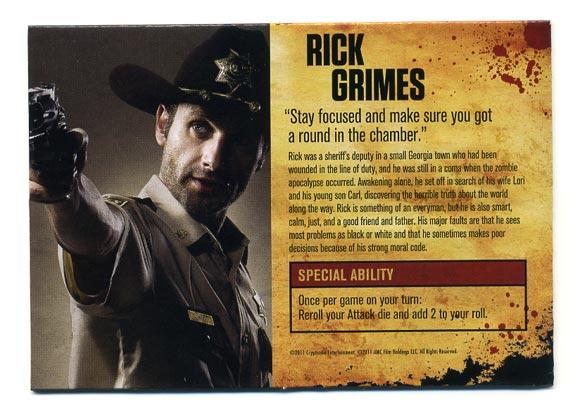 TWD Board Game: Rick