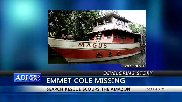 The Magus, Dr Emmet Cole's missing vessel